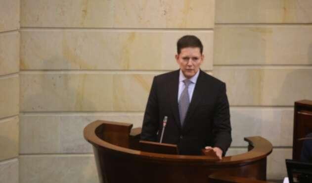 Wilson Ruiz, ministro de Justicia
