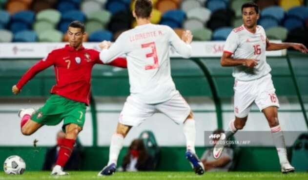 Cristiano Ronaldo - Portugal Vs. España