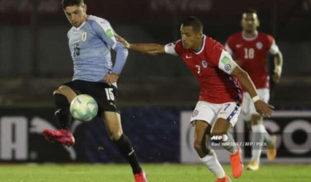 Uruguay Vs. Chile - Eliminatoria