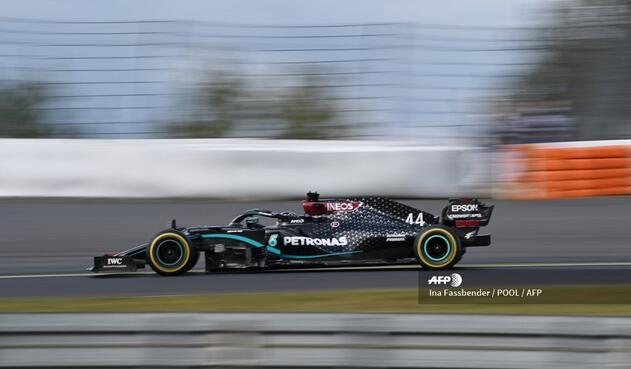 El británico Lewis Hamilton, piloto de Mercedes