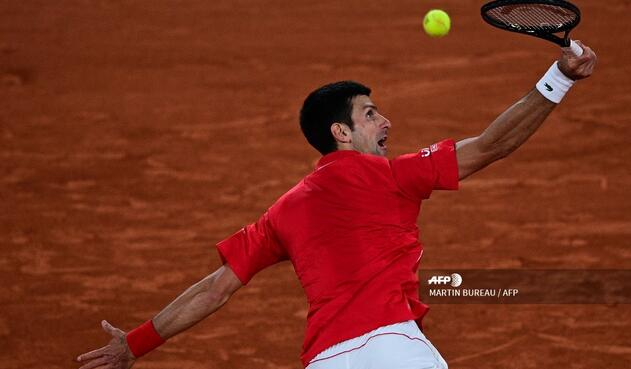 Novak Djokovic, derrotado por Rafael Nadal en Roland Garros