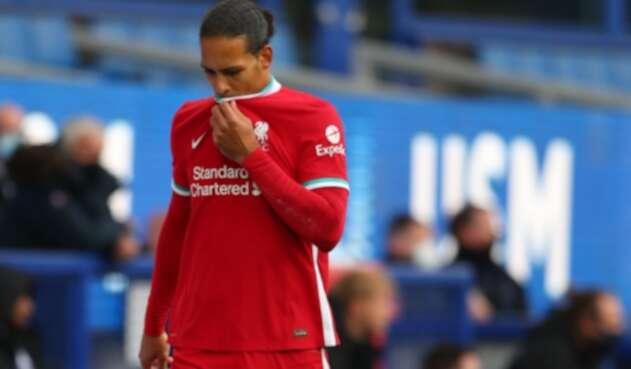 Virgil Van Dijk, jugador del Liverpool