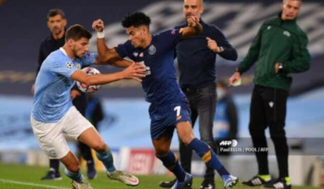 Manchester City Vs. Porto - Champions League - Luis Díaz