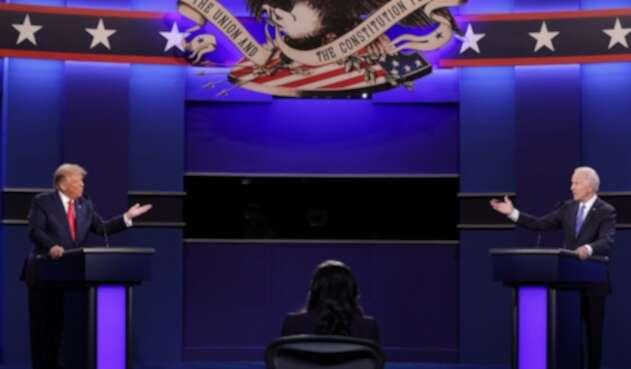 Debate de Donald Trump y Joe Biden