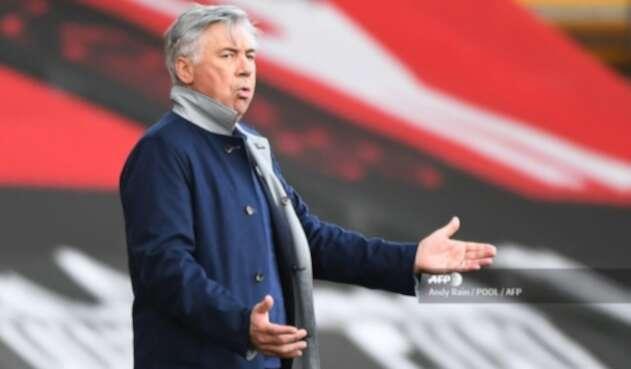 Carlo Ancelotti - DT de Everton
