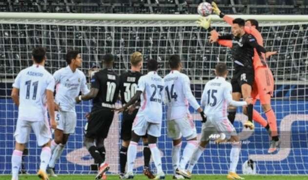 Borussia Mönchengladbach Vs. Real Madrid - Champions League