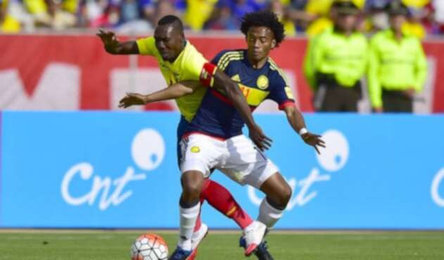 Ecuador vs Colombia - Eliminatorias