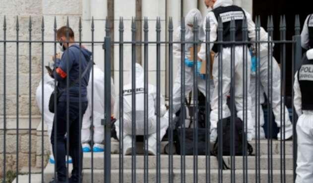 Ataque en Francia con cuchillo - Niza