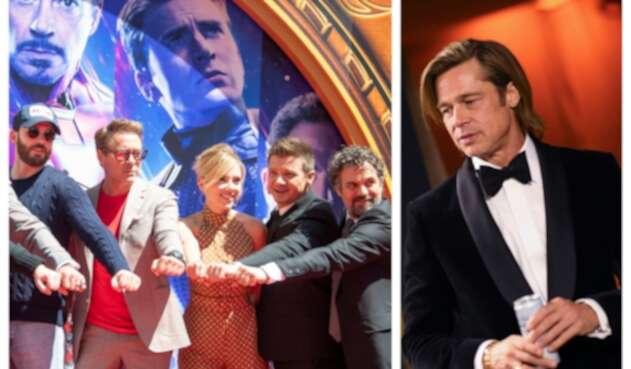 Avengers y Brad Pitt expresan su apoyo a Joe Biden