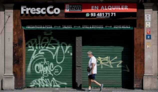 Cierre de restaurantes Cataluña