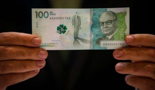 Billete de 100.000 pesos