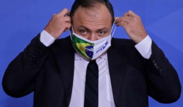 Eduardo Pazuello, ministro de Salud de Brasil