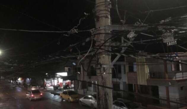 Investigan caída de cable a niño en Barranquilla