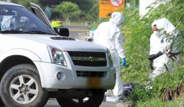 Homicidios en Colombia