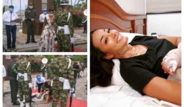 Caída Reina del Turismo, Daniela Angarita