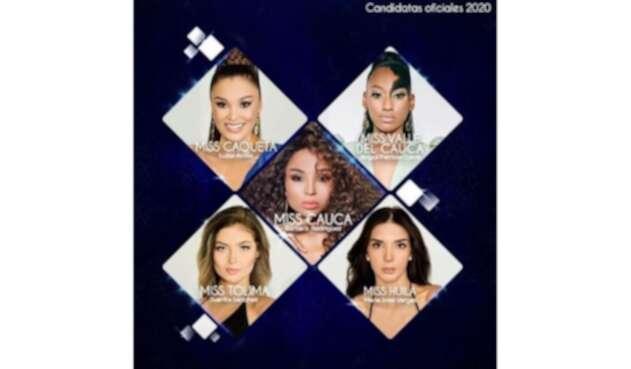 Candidatas de Miss Universe Colombia