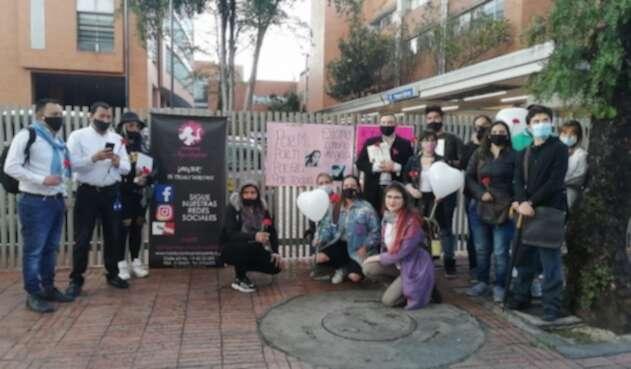 Con demostración pública en el Cardioinfantil, familiares reclaman justicia