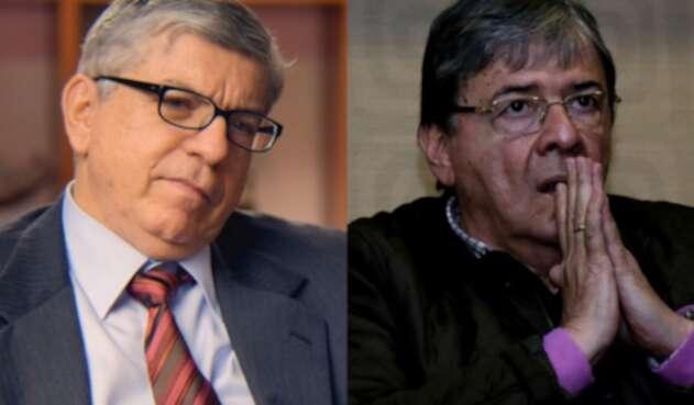 César Gaviria y Carlos Holmes Trujillo