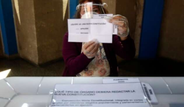 Referendo en Chile para cambiar Constitución