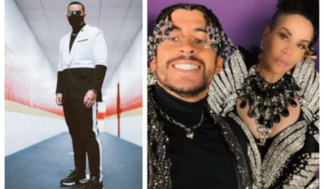Daddy Yankee y Bad Bunny