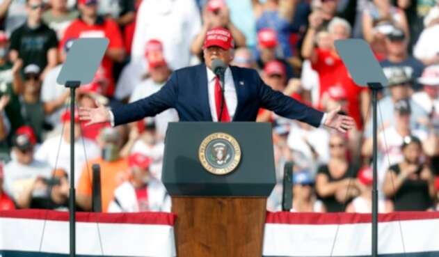 Donald Trump en Tampa, Florida. 29 de octubre de 2020