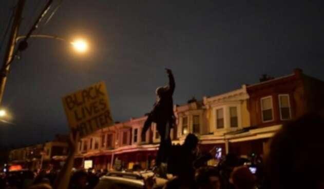 Protestas en Filadelfia