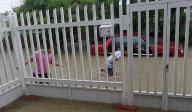 Emergencias por lluvias en Barranquilla.