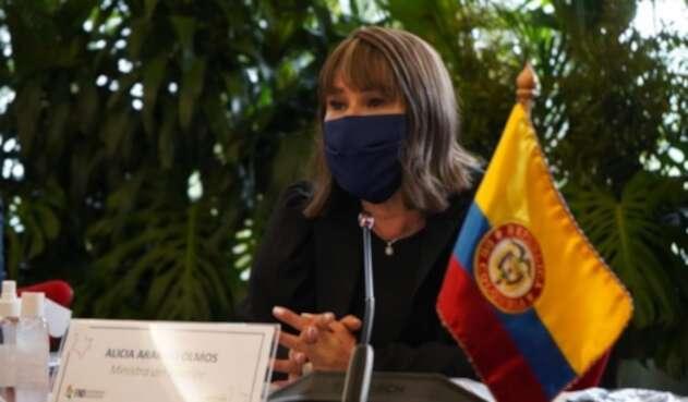 Alicia Arango, ministra del Interior