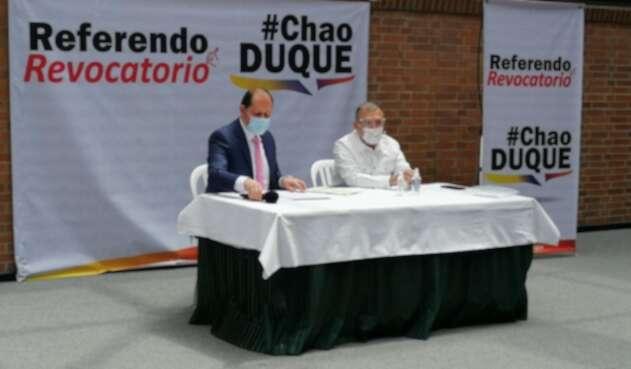 Roy Barreras, referendo revocatorio