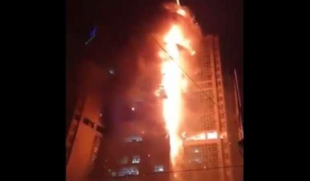 Incendio Corea
