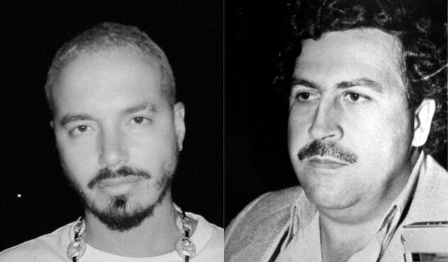 J Balvin y Pablo Escobar