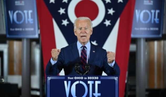 Joe Biden, candidato demócrata