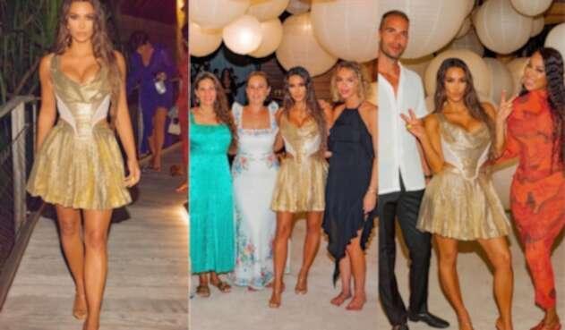 La fiesta de Kim Kardashian