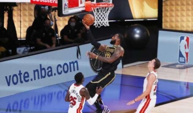 LA Lakers vs. Miami Heat - NBA