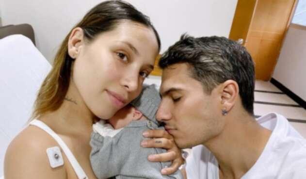 Massimo, hijo de Pipe bueno y Luisa Fernanda W
