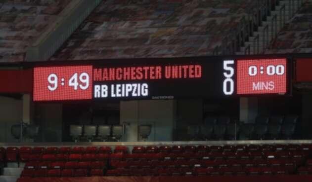 Manchester United Vs. Leipzig - Champions League