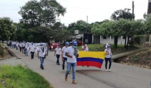 Peregrinación FARC