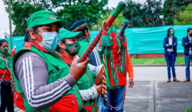 Minga indígena llega a Bogotá