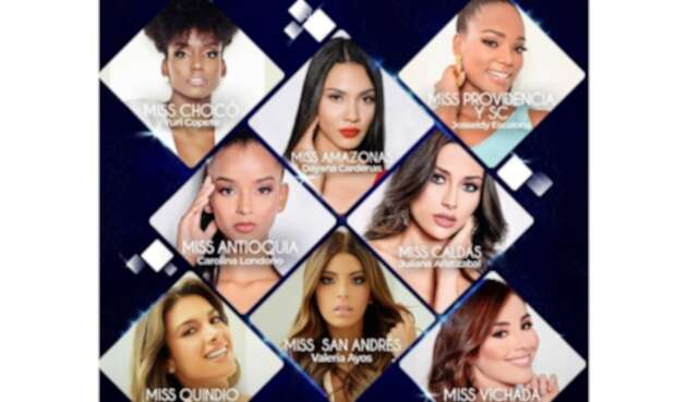 Candidatas de San Andrés y Providencia en Miss Universe Colombia