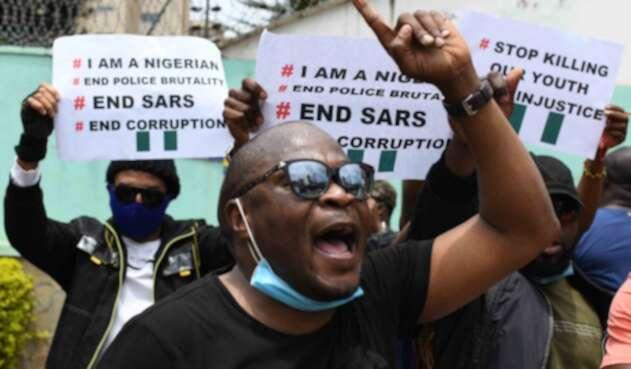 Protestas en Nigeria.
