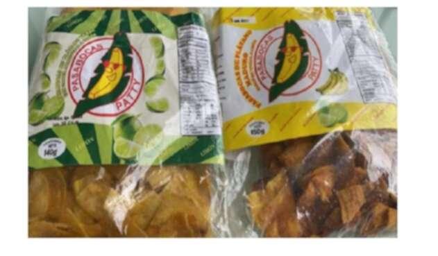 Plátanos Empacados