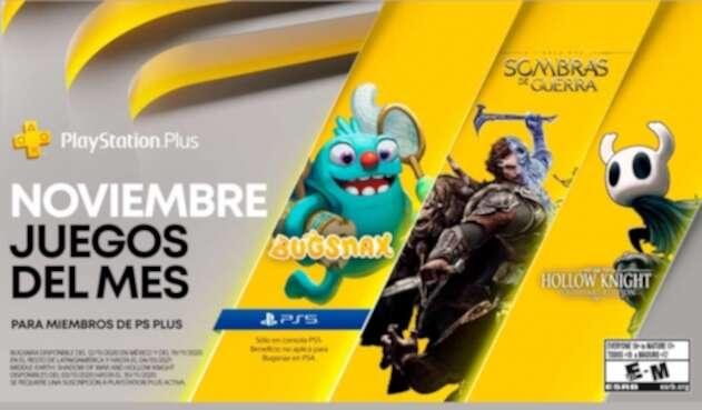 juegos Ps Plus para noviembre