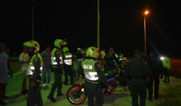 Hecho ocurrido en el barrio Lucero de Barranquilla