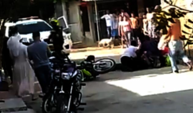 Policías heridos en Miranda, Cauca