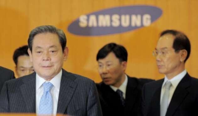 Lee Kun-hee, presidente de Samsung