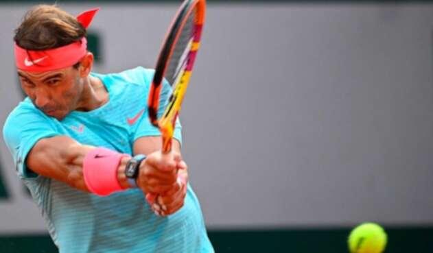 Rafael Nadal en el Roland Garros