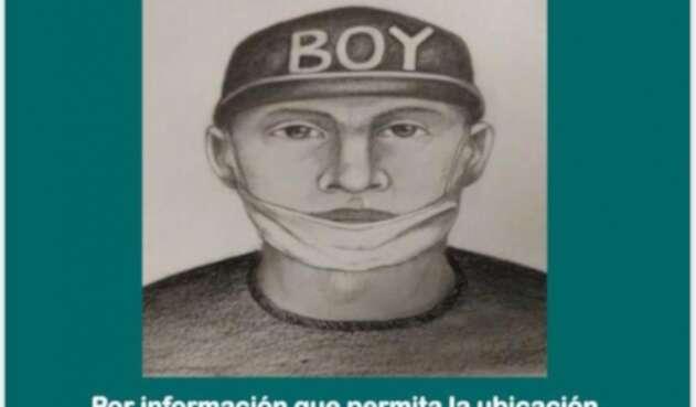 Retrato hablado de presunto asesino de usuario de Transmilenio