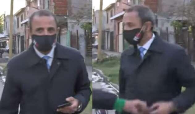 Roban a periodista en Argentina
