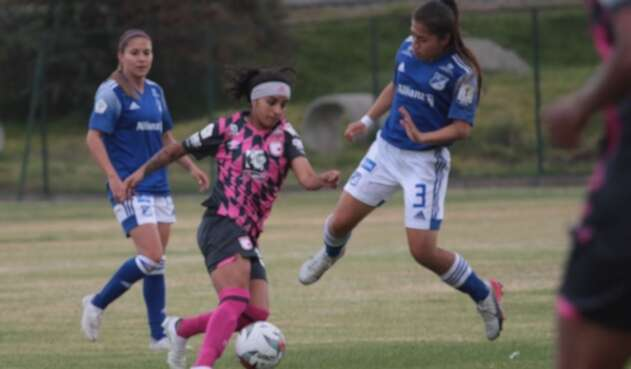 Santa Fe vs Millonarios femenino