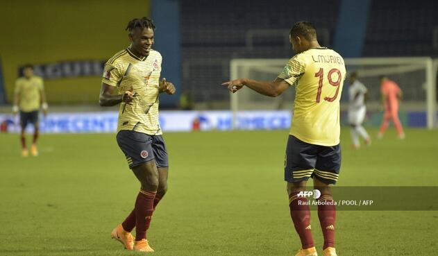 Selección Colombia: Duván Zapata y Luis Fernando Muriel